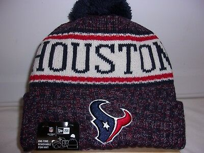 on sale afbed c9650 2018 New Era Houston Texans On Field Knit Beanie Hat.