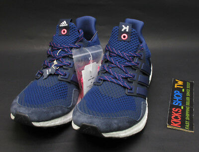 SALE 2019 adidas Consortium ULTRA BOOST KINFOLK NAVY PINK REAL LEATHER BB9520