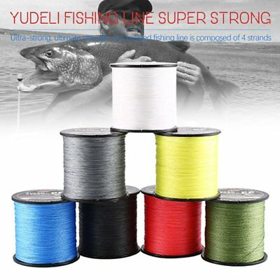 YUDELI FISHING LINE Resistant Braid 4 6 10 20 30 40 50 60 80 lb 300 500 1000M 5J