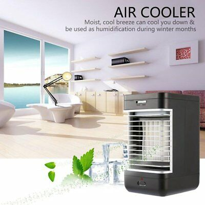 Portable Mini Air Conditioner Fans Cool Cooling For Bedroom Artic Cooler Office