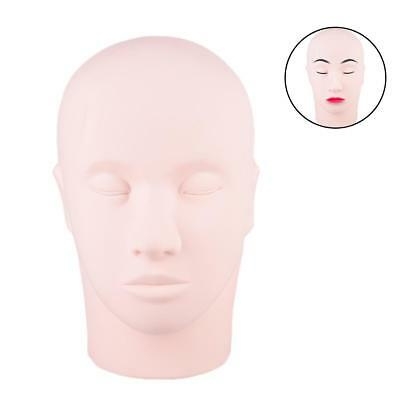 Makeup Training Head Mannequin Tattoo Face Practice Eyelashes Cosmetology