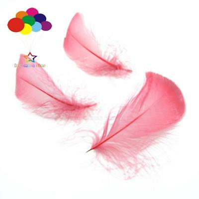 Burgundy Diy 100 Pcs/Lots Goose feather 4-7cm 1-2 Inch Stage Props Dream Catcher
