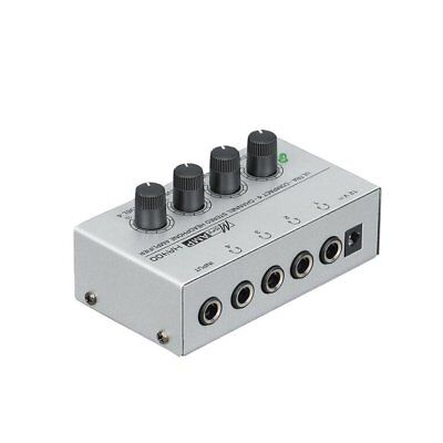 HA400 Ultra-compact 4 Channels Mini Audio Stereo Headphone Amplifier AZ