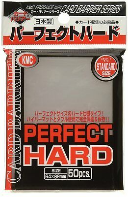 KMC Supplies KMCPS1652 Clear Perfect Fit Hard Collectible Card FREEshipWorldwide