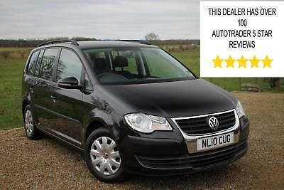 2010/10 Volkswagen Touran 1.9TDI BlueMotion Tech S, 1 Owner from new. 7 Seats