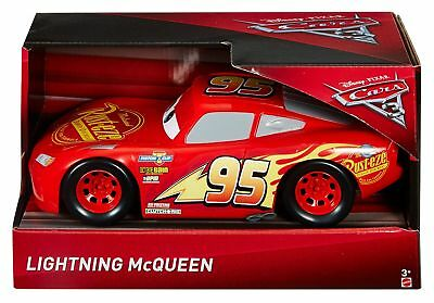 "Disney Cars 3 Lightning McQueen Vehicle 10.5"" Racing Car Kids Toy Gift"