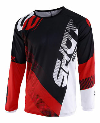 New 2019 Adult Shot Ultimate Devo Motocross Mx Enduro Jersey Black Red White