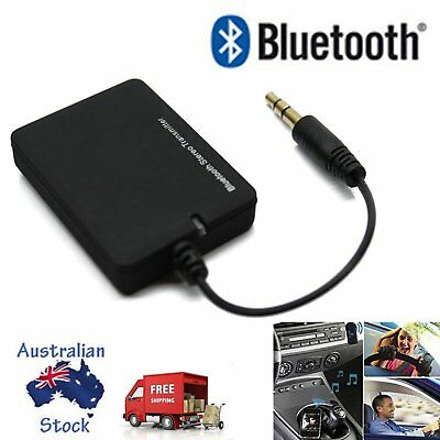Wireless Bluetooth Audio Transmitter Stereo Music Car 3.5mm AUX Speaker Player