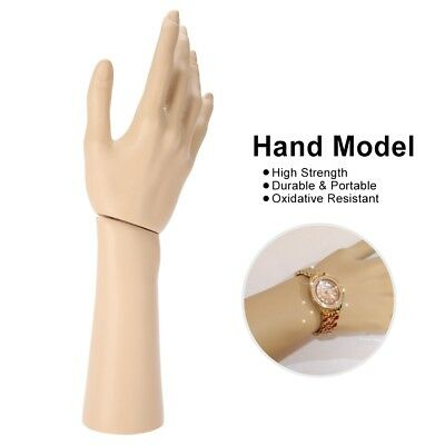 Mannequin Hand Finger Ring Bracelet Bangle Jewelry Display Stand Holder