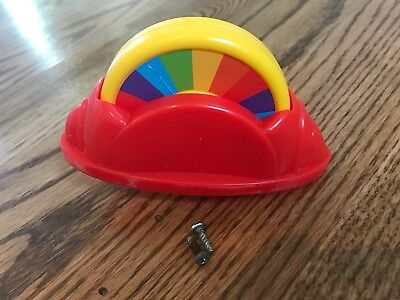 Fisher Price Rainforest Jumperoo Replacement Part Spinning Color Wheel Toy 6231