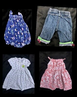 8d7bbc6f726 Lot Of 4 Baby Girls 18-24 Months Clothes Dress Pants Outfits Old Navy  Gymboree