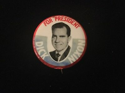 For President Dick Nixon 1 1/4 Inch Button Box 9