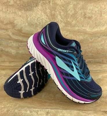 95c887d23965 BROOKS GLYCERIN 15 Womens Running Shoes Blue Purple White -  109.99 ...
