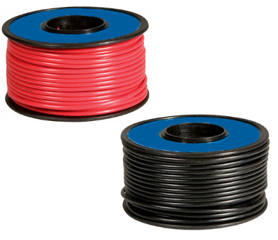 SUPER SOFT SILICONE WIRE FOR RADIO CONTROL / CARS / RC 14awg BLACK & RED