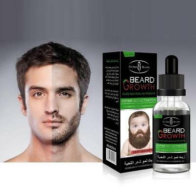 Men Beard Mustache Growth Oil Eyebrow Hair Growth Treatments Liquid HOT