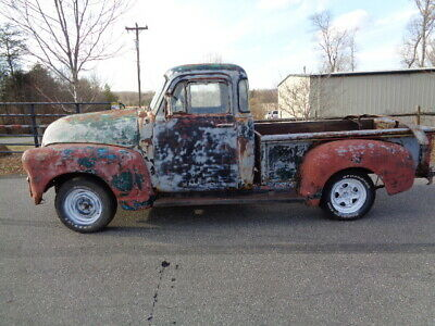 1954 Chevrolet Other Pickups  1954 Chevy PickupTruck 5 window 6 foot Step Side  Project!!! rare fine