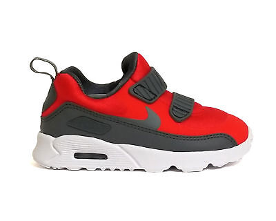 hot sale online a8317 309b1 Nike Air Max Tiny 90 (TD) Toddler Walking Shoes 881924 601 Red Grey