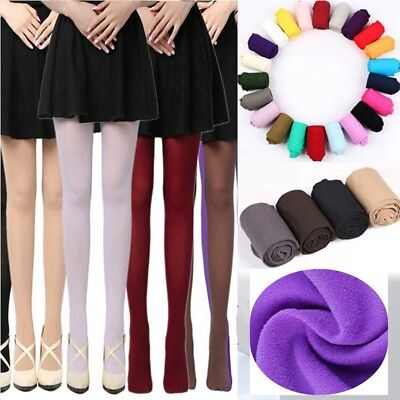 Women Sexy Velvet Pantyhose Thick Elastic Stockings 120D Warm Opaque Tights Sock