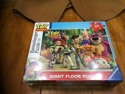 60pc Brand New /& Sealed Toy Story Giant Floor Puzzle