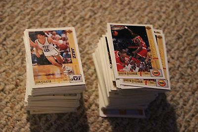 1991 1992 91-92 Upper Deck Basketball You Choose 4 Finish Your Set!
