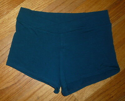 Theatricals Girls Teal Dance Shorts 10-12
