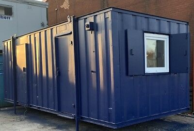 24ft x 9ft Anti Vandal Double Office Container ideal office space - REDUCED!!