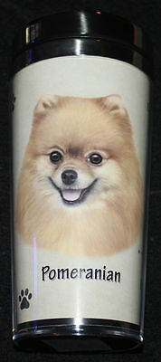 Pomeranian Dog Stainless Steel Insulated Travel Tumbler Thermos