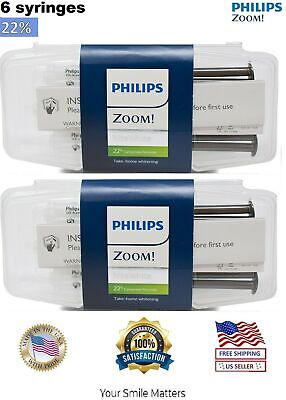 Philips ZOOM! NiteWhite 22% Teeth Whitening Gel 3 Syringes Pack | EXP: 11/2020
