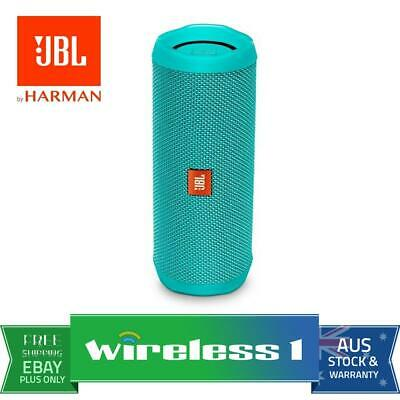 Brand New JBL Flip 4 Portable Bluetooth Speaker - Teal