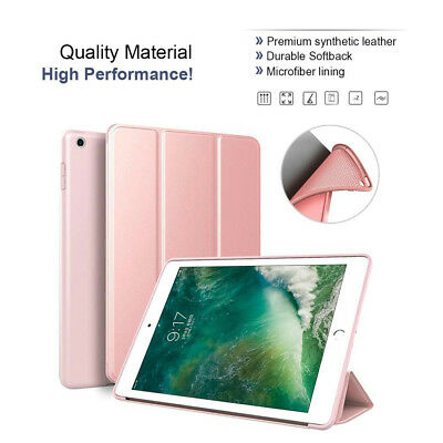 New 9.7'' iPad 5 6 2017/2018 Soft Smart Case PU leather Shockproof Cover