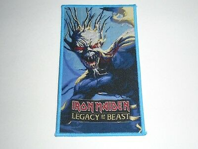 Iron Maiden Legacy Of The Beast Woven Patch