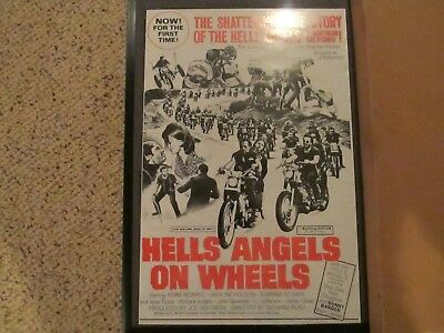 Hells Angels On Wheels collectible  Poster