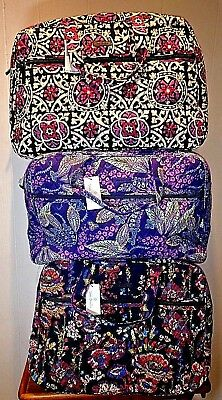 NWT Vera Bradley Grand Traveler Carry-On Weekender in choice of NEW PATTERNS