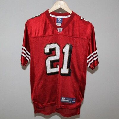 Vintage San Francisco 49ers FRANK GORE Reebok Jersey Rookie Size Large 14-16 769f560b0