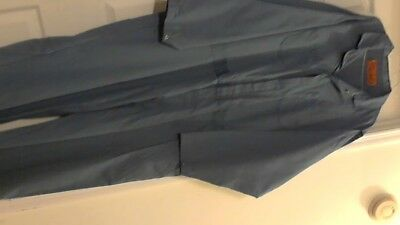 Unifirst Brand  Pre-Owned Work Coveralls ( 56-RG ) Blue