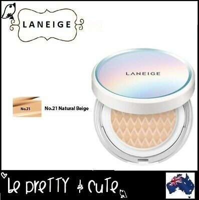 LANEIGE WHITENING BB CUSHION SPF50 WITHOUT EXTRA REFILL #21C Cool Beige