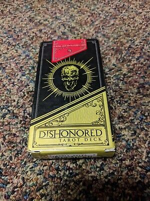DISHONORED Tarot Card Deck Complete 78 Cards in Box