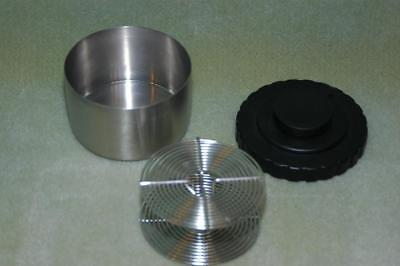 Stainless Steel Film Developing Tank Single 35mm Reel Film Clip Free Shipping