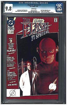 FLASH TV SPECIAL #1 CGC 9.8 (1991) DC Comics photo white pages
