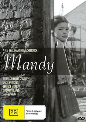 Mandy - Jack Hawkins - Dvd - Free Local Post