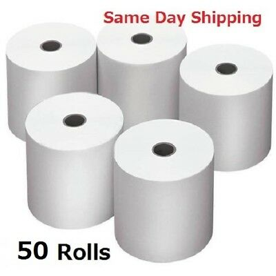 Sydney Metro Only. 50 Rolls 80x80mm Thermal Paper Cash Register Receipt Roll