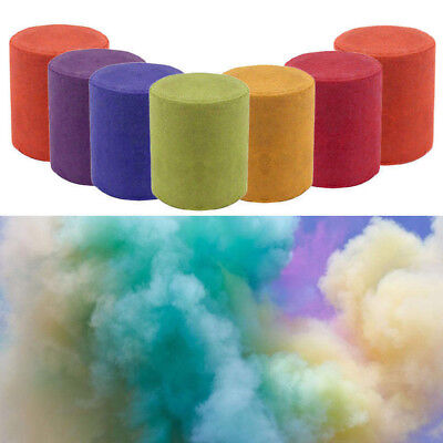 Colorful Smoke Cake Pills Round Photography Props Film Stage Show Effect