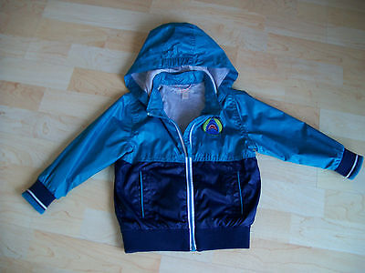 126bfb5939 KINDERJACKE BLAU/ TÜRKIS von Hollister / All-Weather, Größe S ...