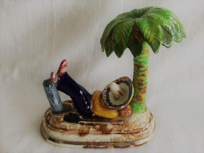 Collectable Vintage Retro Signed Marie Gardner Manly Ceramic Mexican Figurine