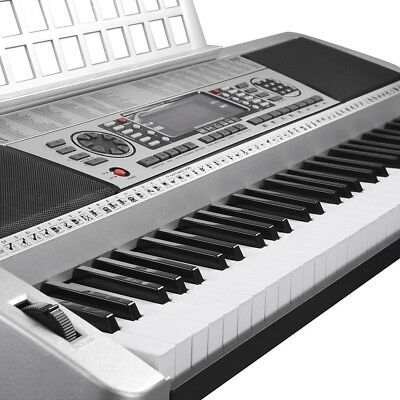 61 Keys Electric Piano Instrument LCD Digital Keyboard Simulation Practice Music