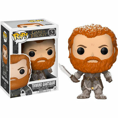 Funko Pop! Game of Thrones 53 Tormund Giantsbane Snow Covered Limited Edition