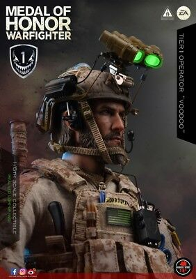 Soldier Story 1/6 Medal Of Honor Navy SEAL Tier One Operator SS106 Voodoo New