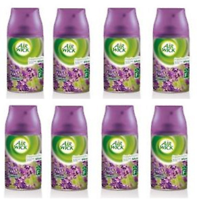 Air Wick Freshmatic Purple Lavender Meadow Spray Refill Air Freshener 8 x 250mls