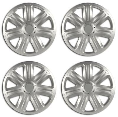 16'' Universal Fit ABS Plastic Wheel Trim Covers Stylish Hubcaps Set of 4