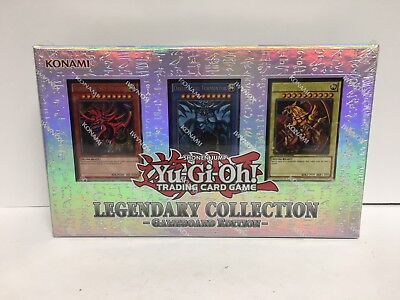 Yugioh Legendary Collection Gameboard Edition w/ God Cards New Sealed